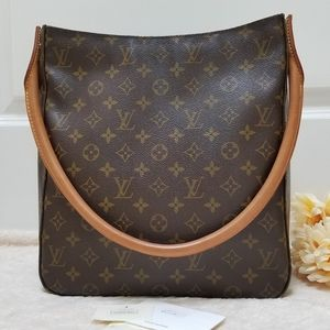 😍 Beautiful Louis Vuitton Tote Bag Looping GM